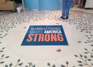 custom floor vinyl graphics manufacturing