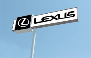 Lexus Custom Pole Signs